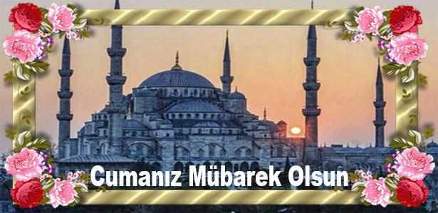sultanahmet camii manzaralı cuma mesajları