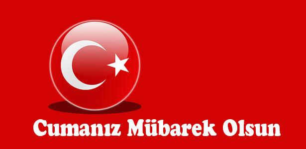 türk bayraklı cuma mesajları resimli indir